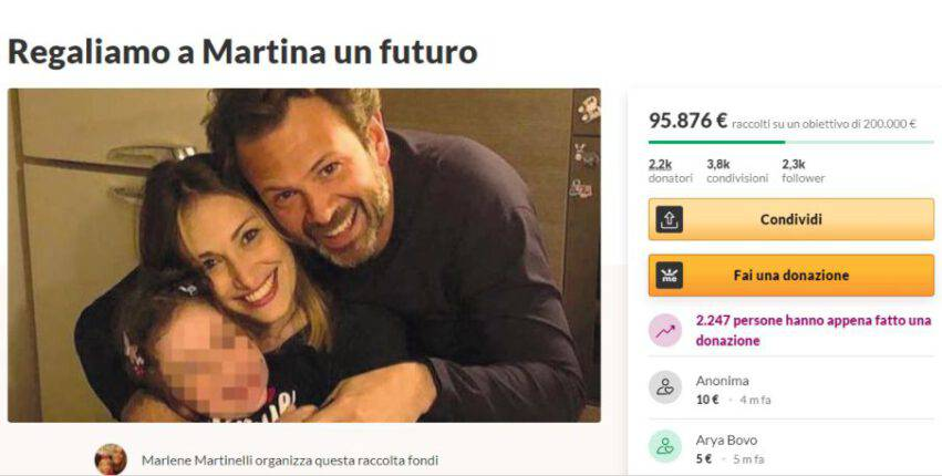 Raccolta Fondi per Martina