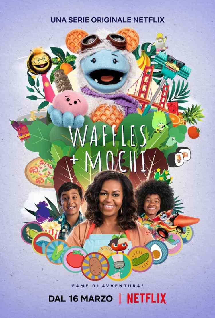 Waffles and Mochi
