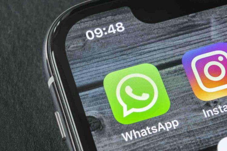 WhatsApp archivio file