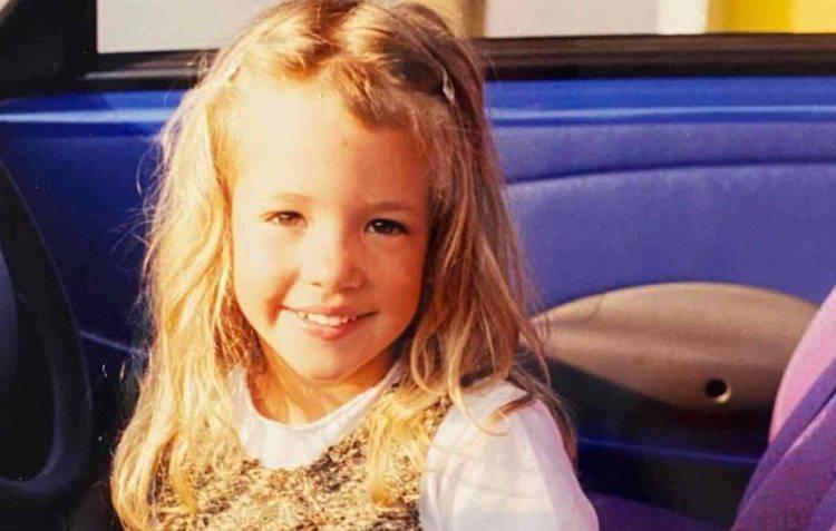 Alice Campello da bambina