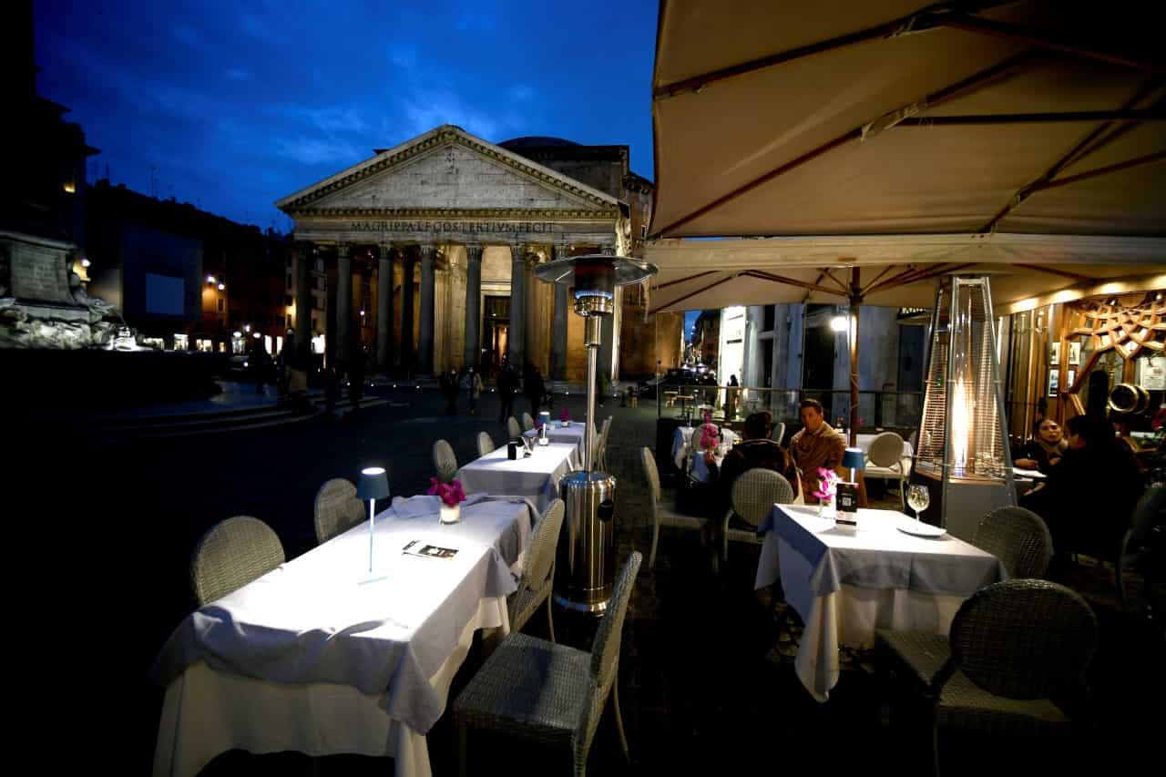 riapertura ristoranti sera