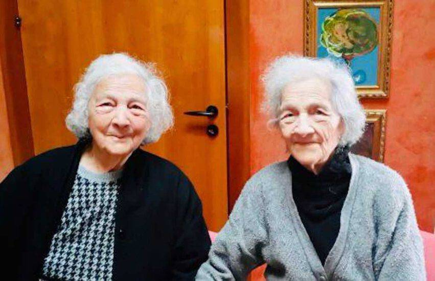 gemelle 100 anni