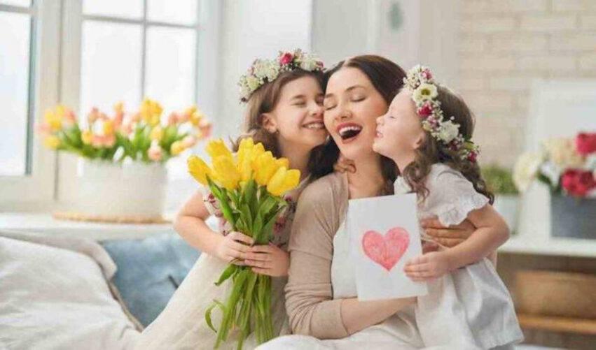 mamma con figlie