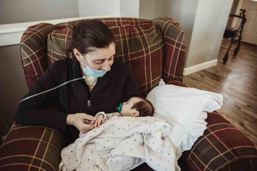 mamma incontra figlia dopo covid