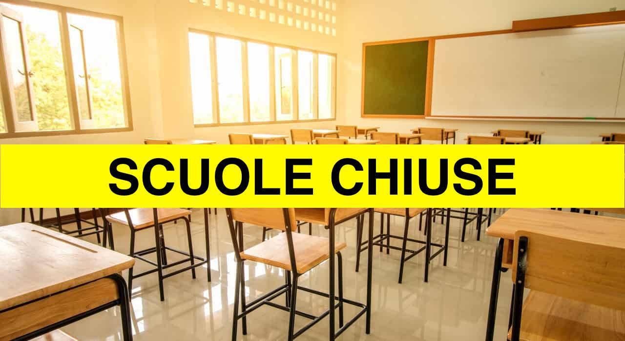 SCUOLE CHIUSE