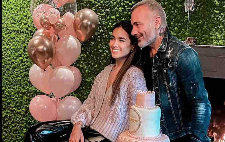 gianluca vacchi sharon fonseca compleanno