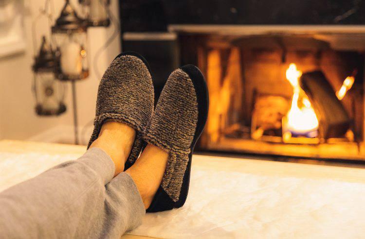 pantofole piedi