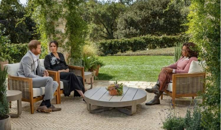 Harry e Meghan l'intervista da Oprah (1)