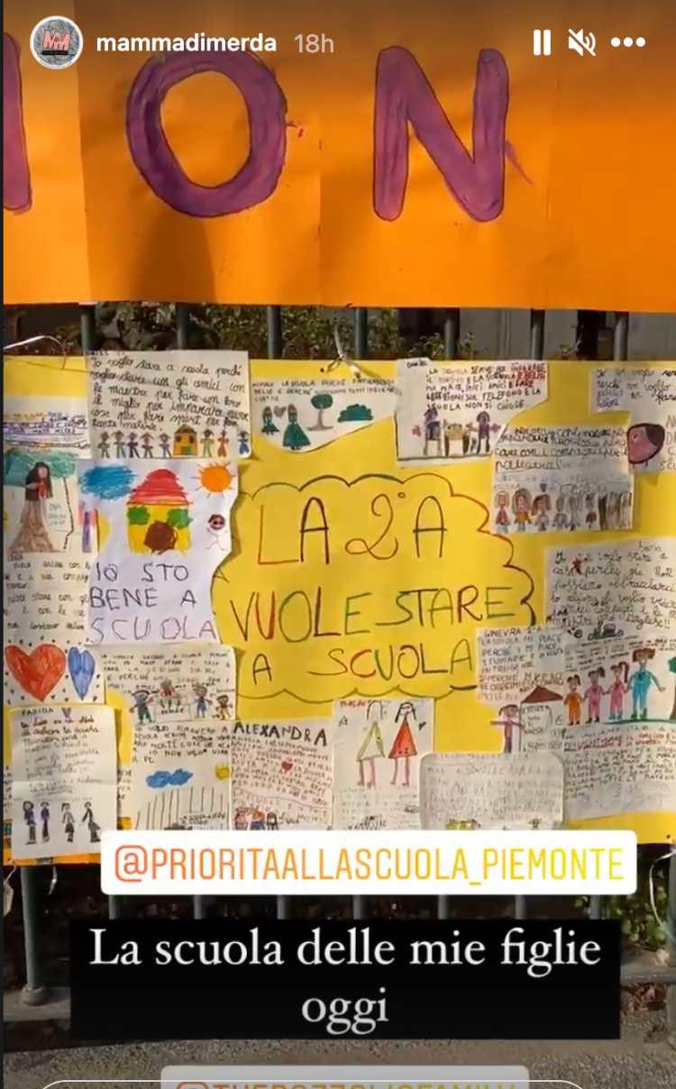 In Piemonte protesta contro scuole chiuse