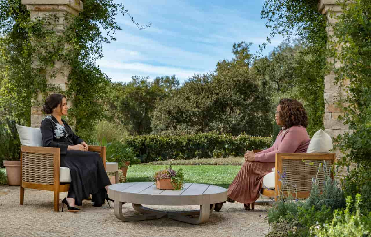 meghan famiglia reale intervista
