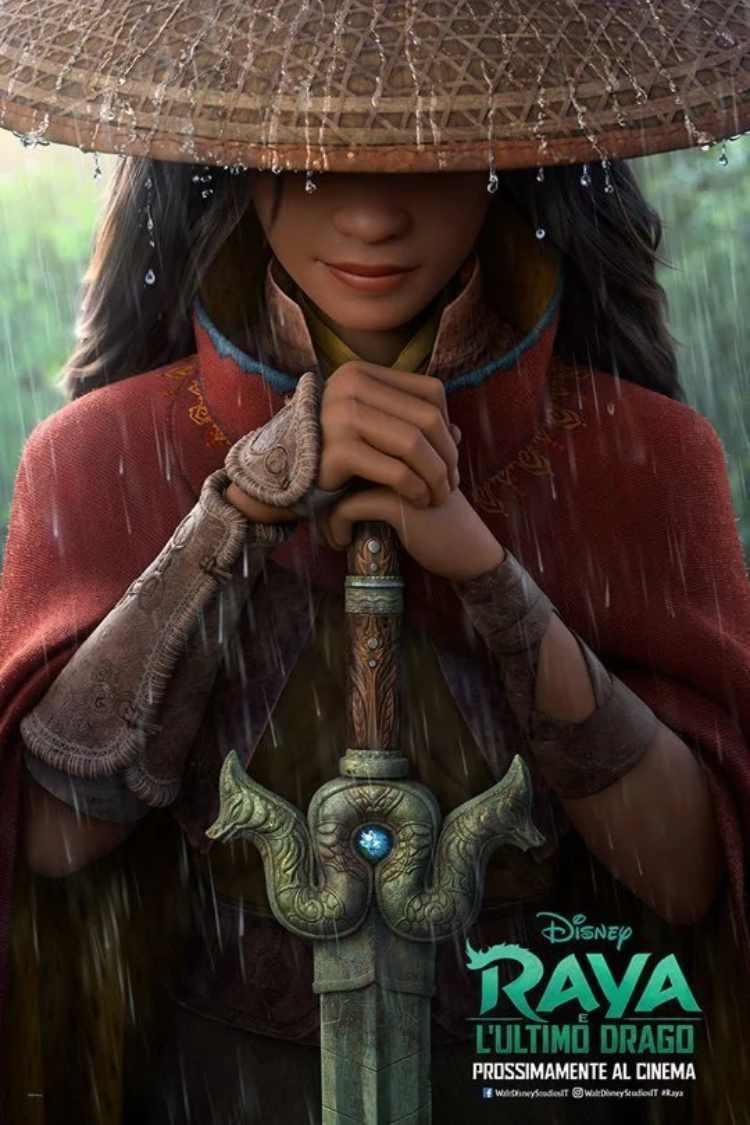 locandina Raya e l'ultimo drago