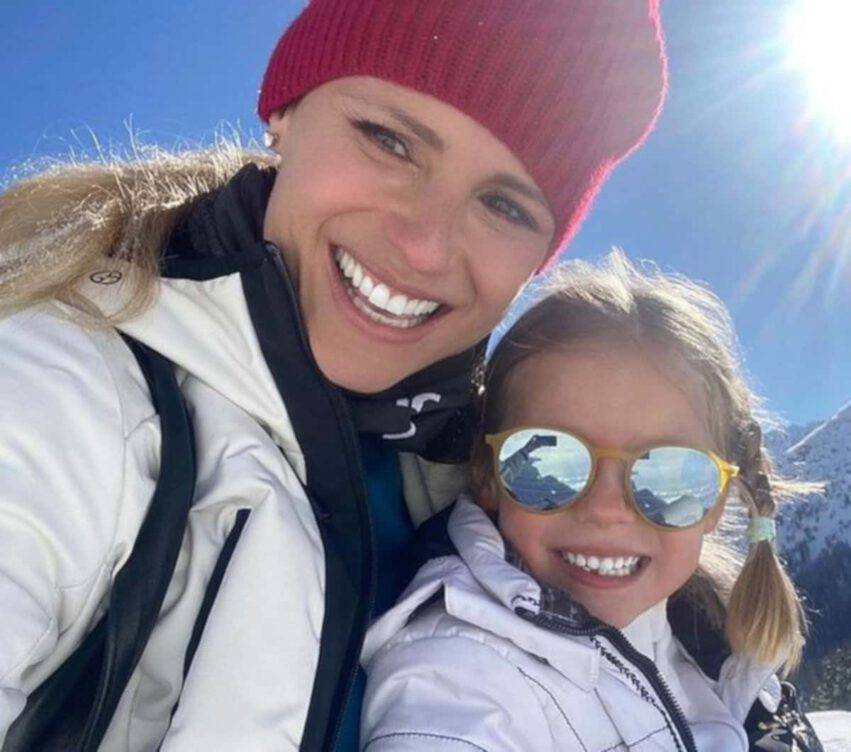 Michelle Hunziker figlia Celeste