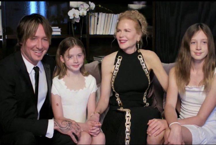 Nicole Kidman con le figlie