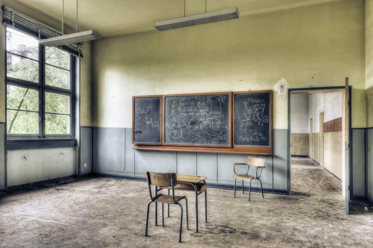 scuole italiane inagibili