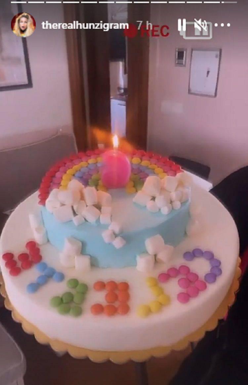 torta celeste trussardi