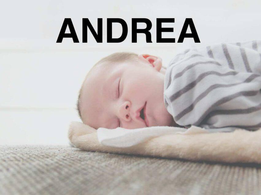 BAMBINO NOME ANDREA