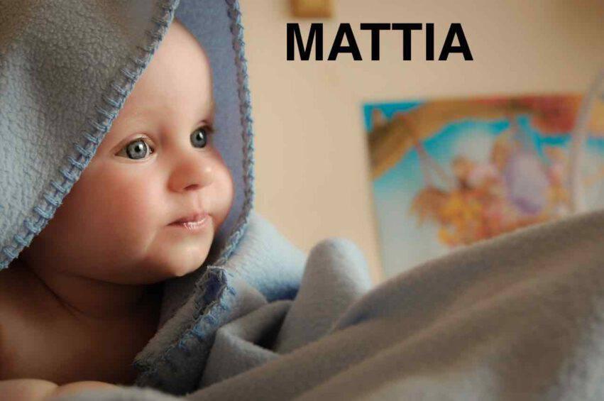 BAMBINO NOME MATTIA