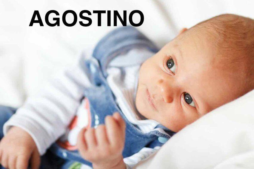 bambino nome agostino